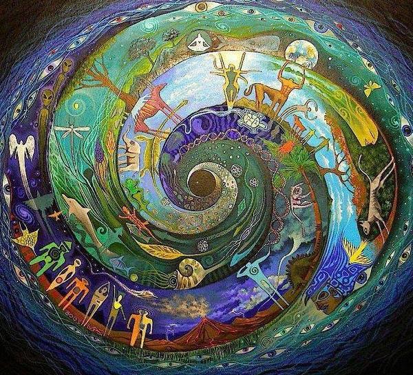 cirkel van leven en liefde